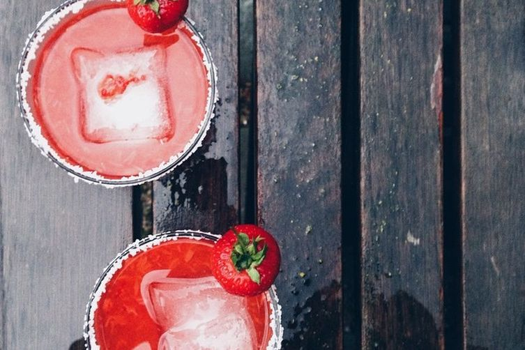 Count to 5 Strawberry Margarita