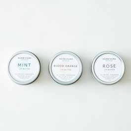 Blood Orange, Rose, and Mint Lip Balm Set