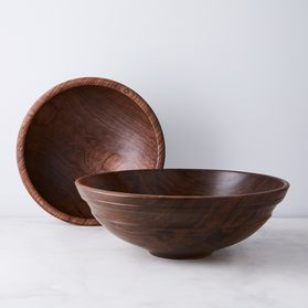 Handmade Wood Bowl in Walnut Wood by Smiths Lake Home Creations