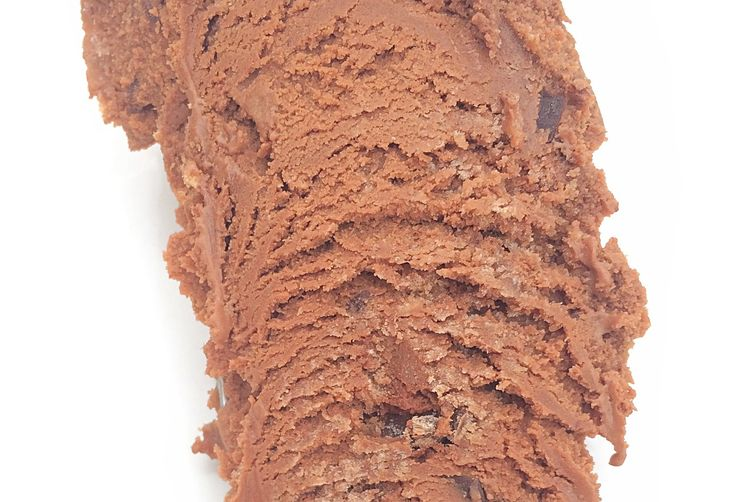 Triple chocolate frozen yogurt