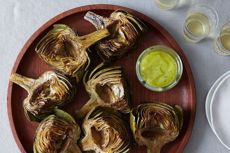 Grilled Artichokes on Food52
