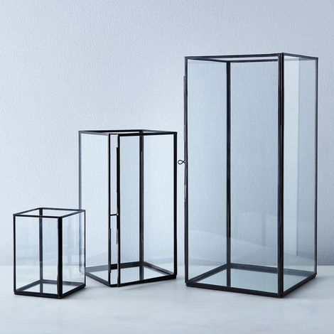 PRESALE Simple Glass Mirrored Lantern