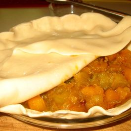 Butternut & Granny Smith Pie...an Autumn Affair