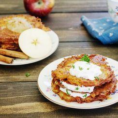 German Potato Pancakes - Kartoffelpuffer