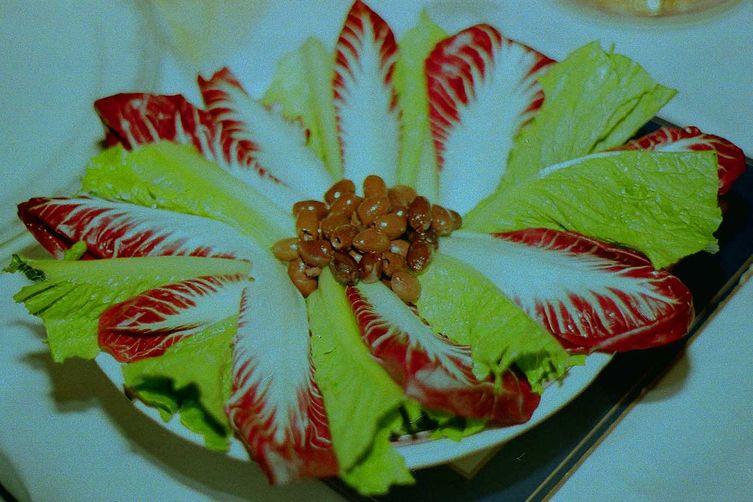 Romaine and Radicchio Salad