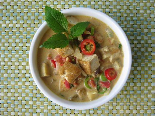 Crispy Coconut Tofu