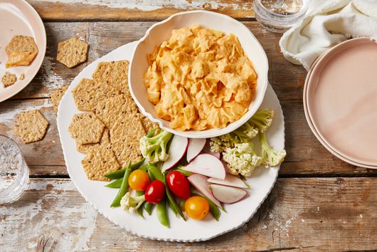 The Spicy, Vegan Buffalo Dip We Can't Get Enough Of
