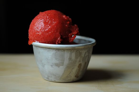 Strawberry Sorbet on Food52