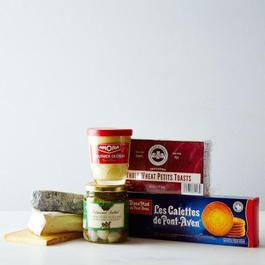 French Cheese & Snack Sampler