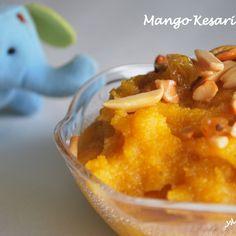 Mango Semolina Pudding/ Mango Halwa