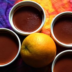 Orange is the New Chocolate (Panna Cotta)