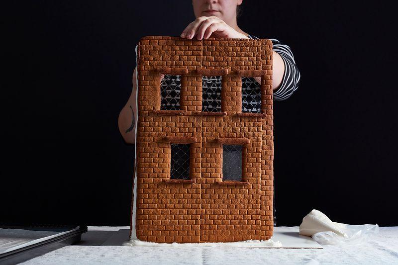 How To Make Gingerbread Bricks