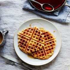Genius Crispy, Fluffy (Vegan) Waffles with a Very Strange Secret Ingredient