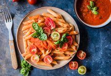 Easy Pasta in Fresh Tomato Sauce