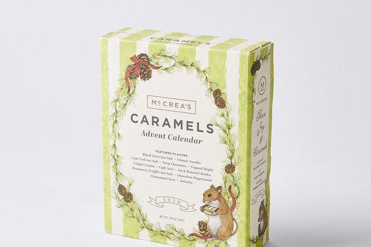 McCrea's Candies Handcrafted Caramel Advent Calendar