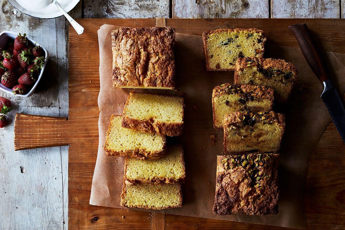 Genius Kitchen Sour Cream Cheese Cream Pound Cake