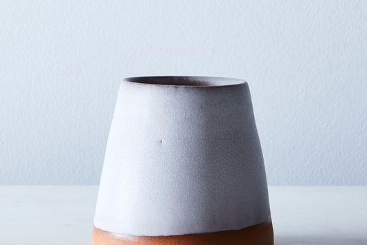 Handthrown Dipped Ceramic Cup