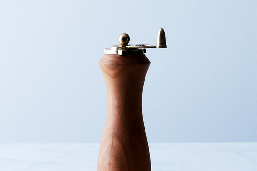 24k Gold & Wood Spice Mill