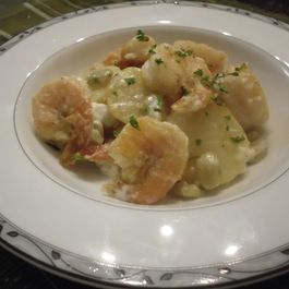 C3247f7f 87e7 48d0 a375 010aee15f0f7  shrimp potato with garlic lemon mayonnaise sauce