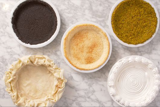 Basic Nut Pie Crust