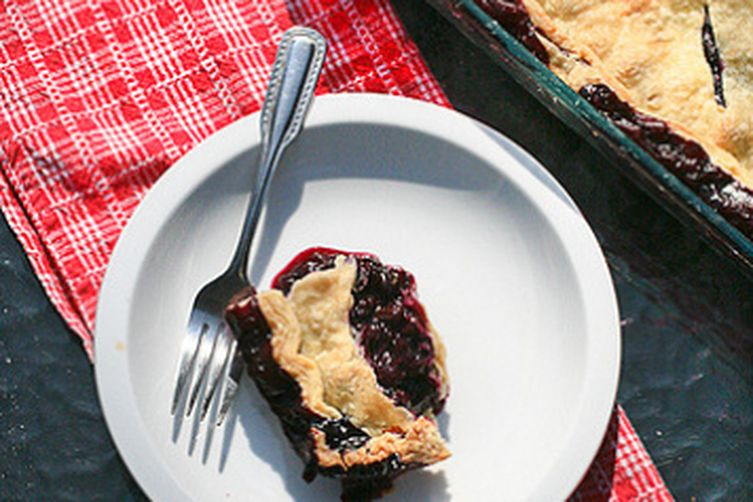 Vacation Blueberry Pie