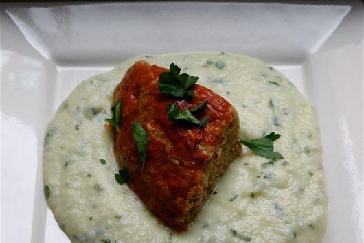 Mustardy Turkey Meatloaf