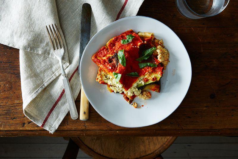 Vegan Lasagna with Roasted Vegetables