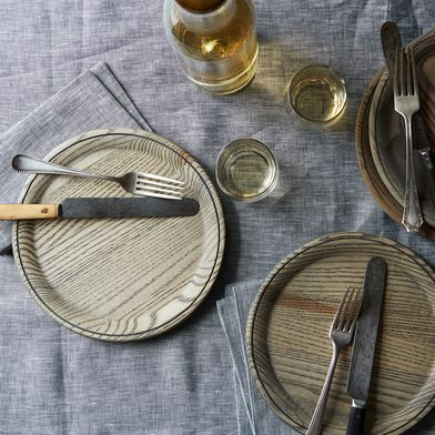 Linen Chambray Table Runner