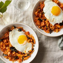Jean's Kimchi Fried Rice With Nori