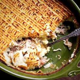 Pork Confit Shepherd's Pie