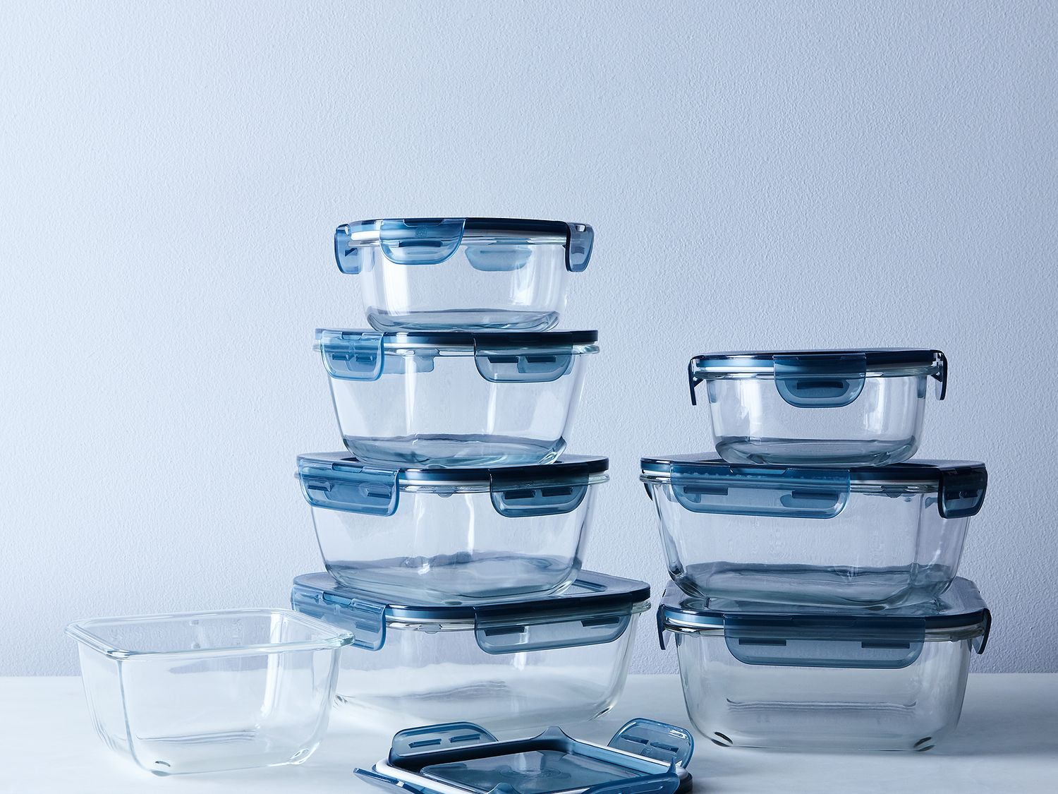 Glass Oven Freezer Safe Storage Containers Set of 8 on Food52