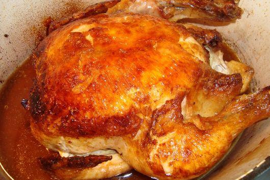 Alice B. Toklas Roast Chicken via Peggy Knickerbocker