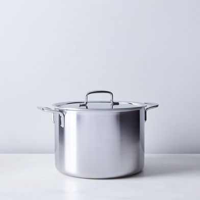 Demeyere 5 Plus Stock Pot with Lid, 8QT