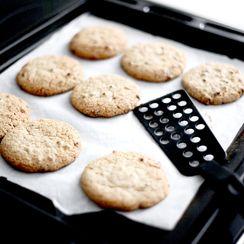 Whole wheat flour and olive oil chocolate chips Cookies