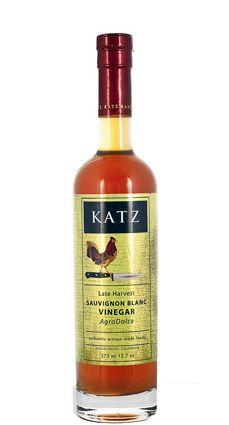 Katz Sauvignon Blanc Agrodolce Vinegar