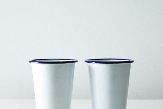 Enamel Cups (Set of 2)