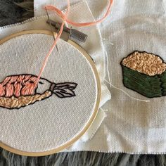 Tiny Embroidered Food Is My Current Internet Obsession