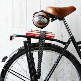 Bicycle-Mounted Growler Holder