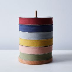 Wooden Stand with Pure Cotton Ribbons