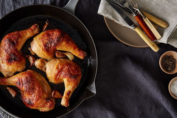 Dinner Tonight: Miso and Honey Butter-Roast Chicken