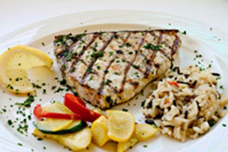 Grilled Swordfish A L' orange
