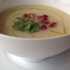 Celeriac Quince Soup