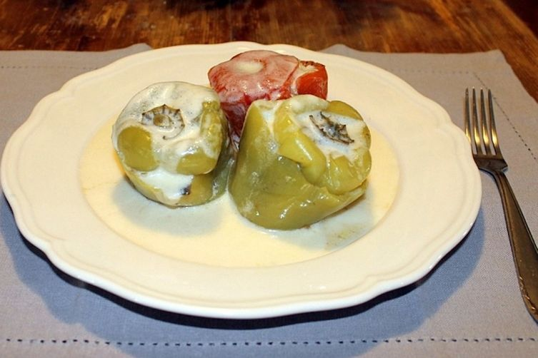 stuffed tomatoes & peppers (the other way)