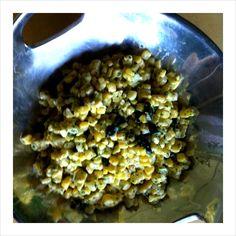 Creamy Jalapeno Corn Salad