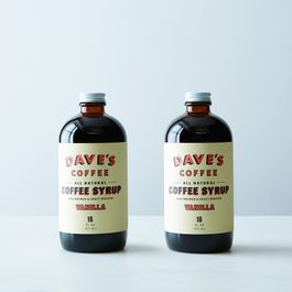 Vanilla Coffee Syrup (2 Bottles)