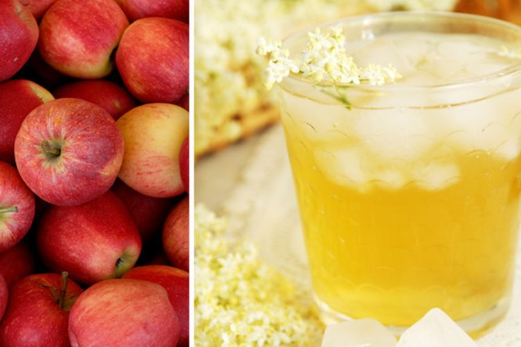 Elderflower and Apple Punch