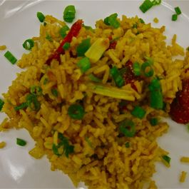 Roasted Vegetable Spanish Rice