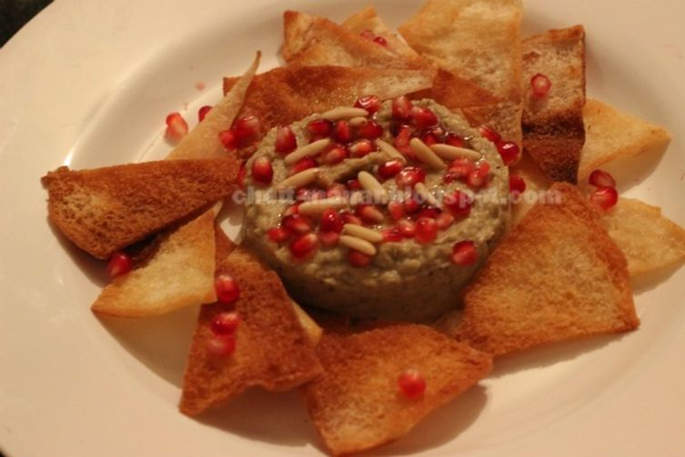 summery roasted Eggplant dip