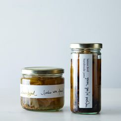 Pickled Leeks and Green Garlic