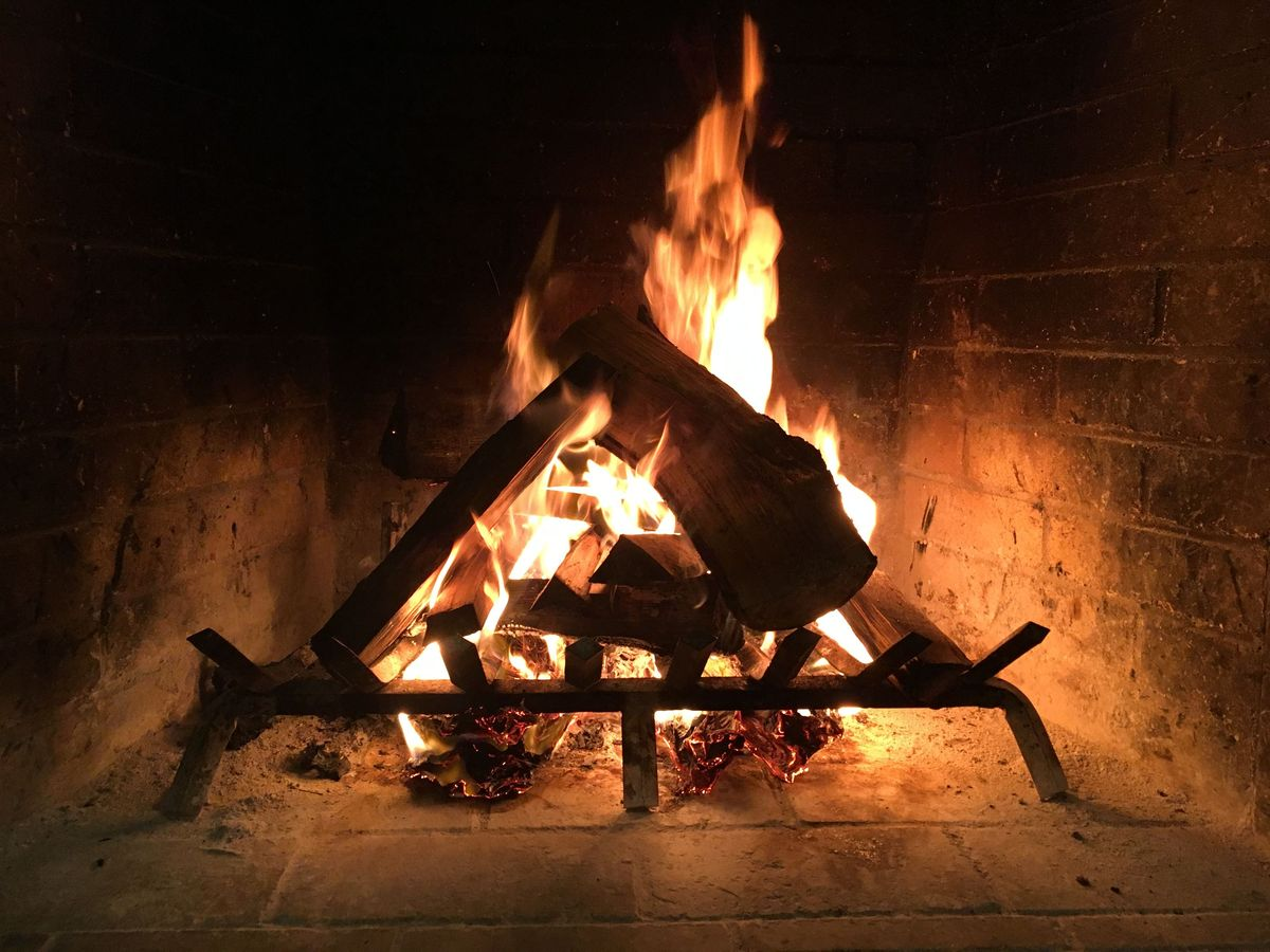 Staying toasty this season is as easy as breathing life into your fireplace.